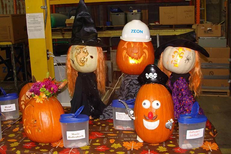 ZEON Jack-O-Lantern Contest